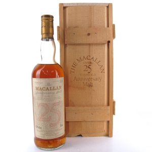 Macallan 1964 Anniversary Malt 25 Year Old