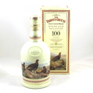 Famous Grouse 100 Years Commemorative Decanter Front