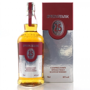Springbank 25 Year Old 2015 Release