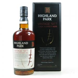 Highland Park 1977 Scottish Merchant's Single Cask #4258