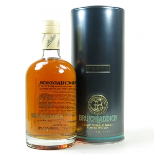 Bruichladdich 40 Year Old 1964 'The Forty' / Signed