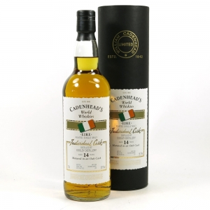 Cooley 14 Year Old Cadenhead's Front