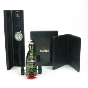 Glenfiddich Miniature with Golf Trolley / Watch and Wallet