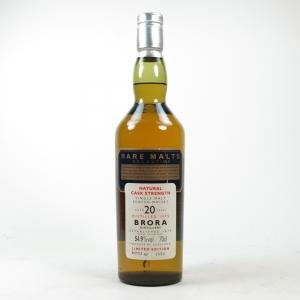 Brora 1975 Rare Malt 20 Year Old