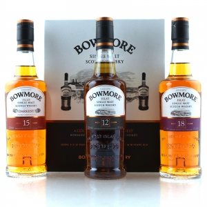 Bowmore Collection 3 x 20cl / 12, 15, 18 Year Old