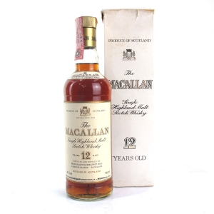 Macallan 12 Year Old 1980s / Rinaldi Import