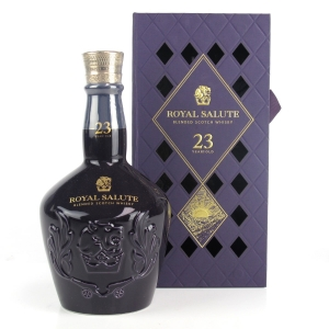 Chivas 23 Year Old Royal Salute / Taiwanese Exclusive