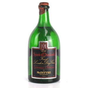 Spirit of Dunkirk Finest Dry Gin 1970s
