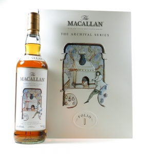 Macallan Archival Series Folio 1 Front