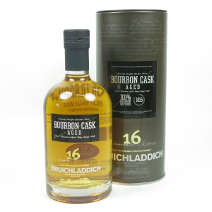 Bruichladdich 16 Year Old Bourbon Cask Front