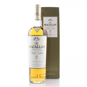 Macallan 8 Year Old Fine Oak