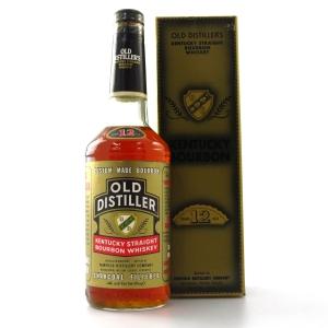 Old Distiller 12 Year Old Bourbon