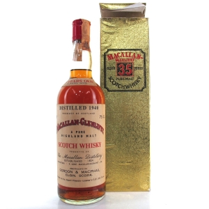 Macallan 1940 Gordon and MacPhail 35 Year Old / Pinerolo Import