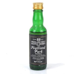 Highland Park 22 Year Old Cadenhead's Miniature 1970s