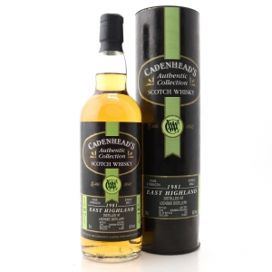 Lochside 1981 Cadenhead's 20 Year Old