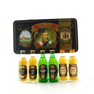 WIlliam Grant's Miniature Collection 6 x 5cl