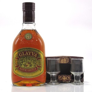 Glayva Scotch Liqueur 1970s / with 2 x Glasses