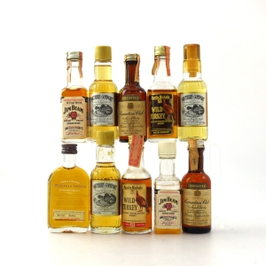 North American Whiskey Miniature Selection 10 x 5cl