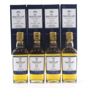 Macallan 12 Year Old Double Cask Miniature 4 x 5cl / US Import