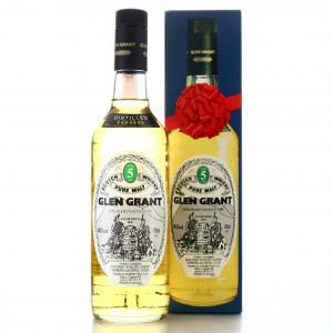 Glen Grant 1986 5 Year Old