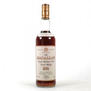Macallan 1978 18 Year Old