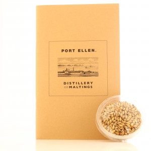 Port Ellen Distillery and Maltings Guide Book with Peated Barley