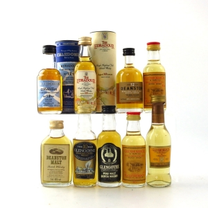 Highland Single Malt Miniatures 9 x 5cl