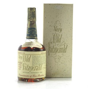 Very Old Fitzgerald 1958 Bonded 8 Year Old 100 Proof Half Pint / Stitzel-Weller