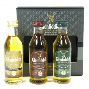 Glenfiddich Cask Collection 3 x 5cl