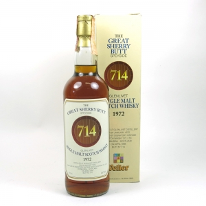 Glenlivet 1972 Signatory Vintage / Velier Import / Great Sherry Butt Front