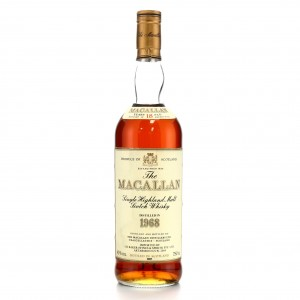 Macallan 1968 18 Year Old / I.H Barker Import, US