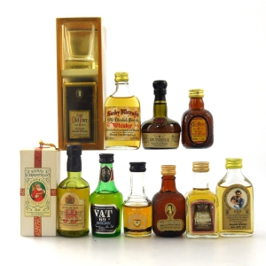 Miscellaneous Premium Blended Miniature Collection 11 x 5cl