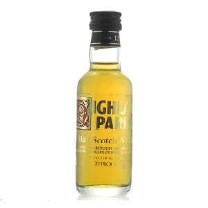 Highland Park 12 Year Old 1970s Miniature 5cl