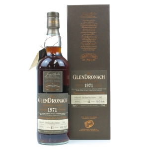 Glendronach 1971 Single Cask 41 Year Old #1247