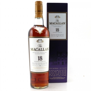 Macallan 1992 18 Year Old 75cl / US Import