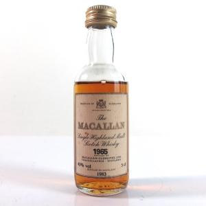 Macallan 1965 5cl Miniature