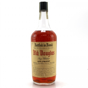 Old Douglas 1936 Bottled in Bond Rye Quart