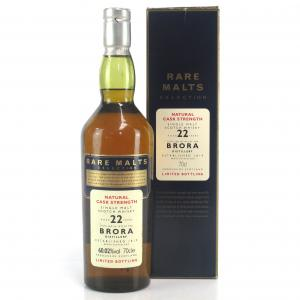 Brora 1972 Rare Malt 22 Year Old / 60.02%