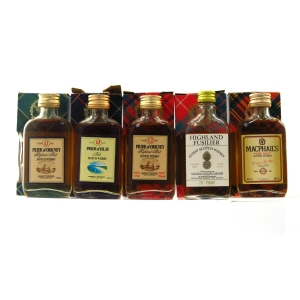Gordon and MacPhail Blends and Blended Malt Miniatures 1970/80s x 5