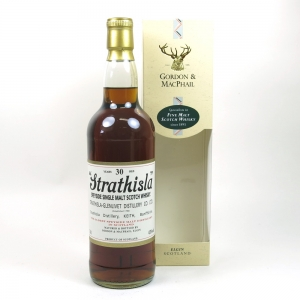 Strathisla 30 year Old Gordon and Macphail Front