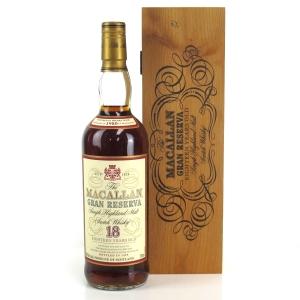 Macallan 1980 Gran Reserva 18 Year Old 75cl / US Import