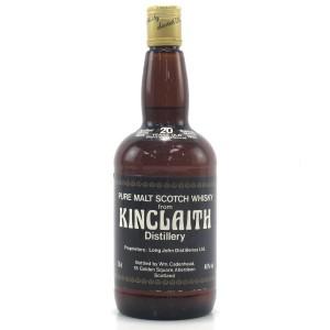 Kinclaith 1965 Cadenhead's 20 Year Old / Sherry Wood Matured