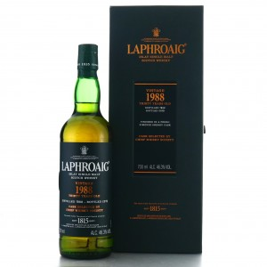 Laphroaig 1988 Chief Whisky Society 30 Year old