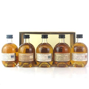 Glenrothes Miniature Selection 5 x 10cl / including 1972