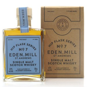 Eden Mill Single Malt Hip Flask Series No.7 20cl / PX Hogshead
