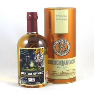 Bruichladdich 21 Year Old Valinch Carnival of Malt Front