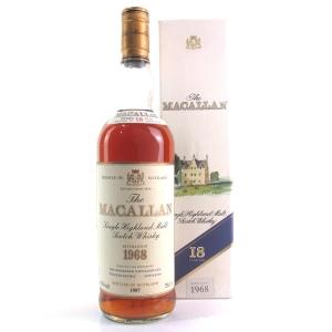 Macallan 18 Year Old 1968