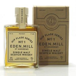 Eden Mill Single Malt Hip Flask Series No.1 20cl / French Virgin Octave