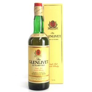 Glenlivet 12 Year Old 1980s / US Import