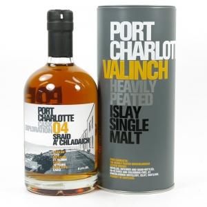 Port Charlotte Valinch Exploration Cask #04 / Sraid A'Chladaich Front